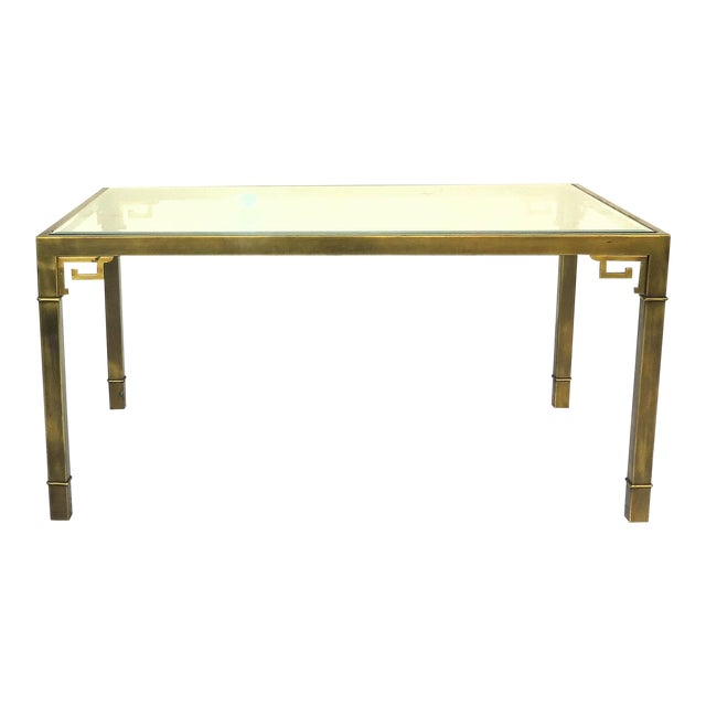 Image of Mastercraft Greek Key Dining Table