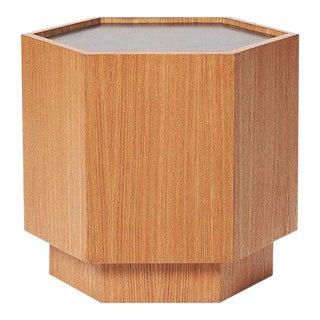Sabin Oak Hexagon Vallejo Table