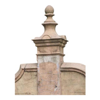 Addison Mizner's La Ronda Cast Stone Post Finial