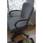 Image of Vintage Industrial Steel Chair by Harter 1950s