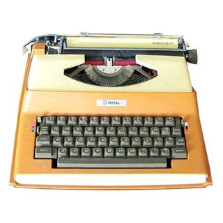 Royal Portable Electric Typewriter
