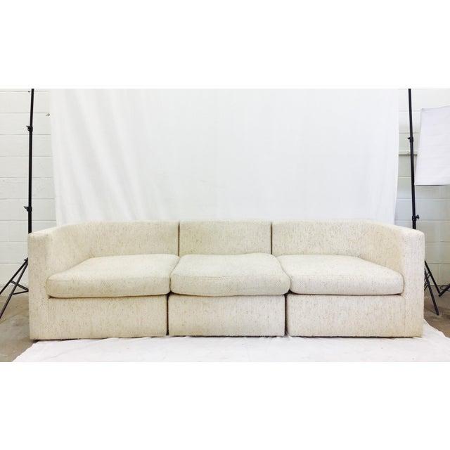 Vintage Mid-Century Modern Milo Baughman Sofa - Image 2 of 11