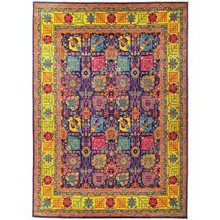 "Eclectic, Hand Knotted Area Rug - 8'9"" x 12'1"""