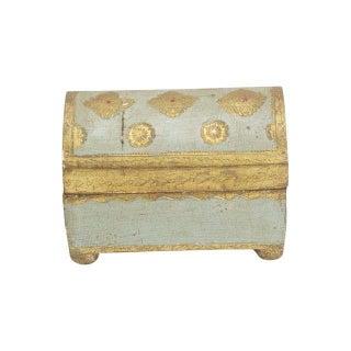 Small Blue Florentine Box