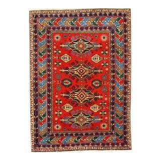 "Pasargad NY Russian Kazak Antique Lamb Wool Rug - 3'11"" x 5'5"""