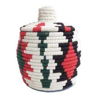 Moroccan Hand-Woven Bread Basket