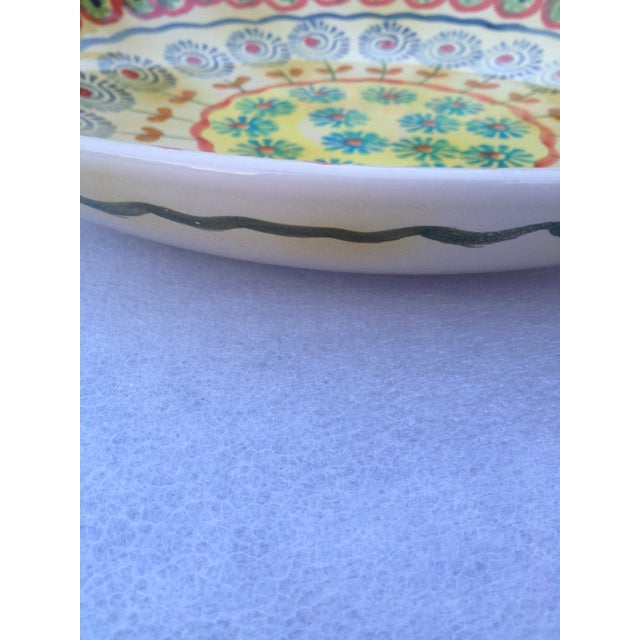 Image of Hand Painted Italian Serving Platter