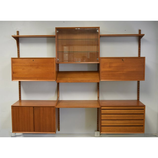Mid-Century Modern Adjustable Wall Unit - Image 2 of 10