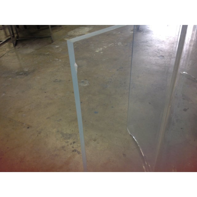 Vintage Lucite Table Bases - A Pair - Image 6 of 8