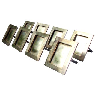 Silver Place Holders/Napkin Rings - Set of 8