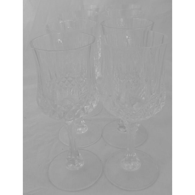 Vintage French Crystal Wine Glasses - Set of 8 - Image 6 of 6