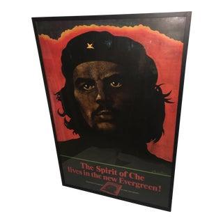 Evergreen 1968 Original Che Guevara Poster