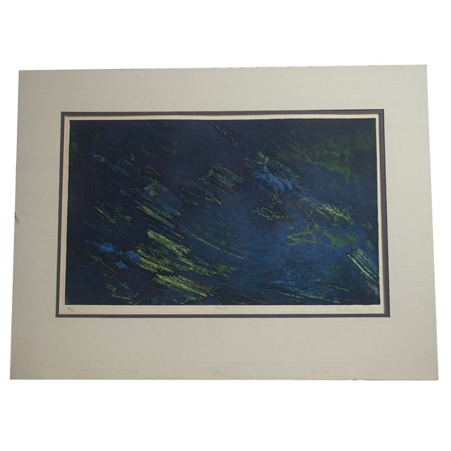 Image of Stanley William Hayter Color Etching and Aquatint