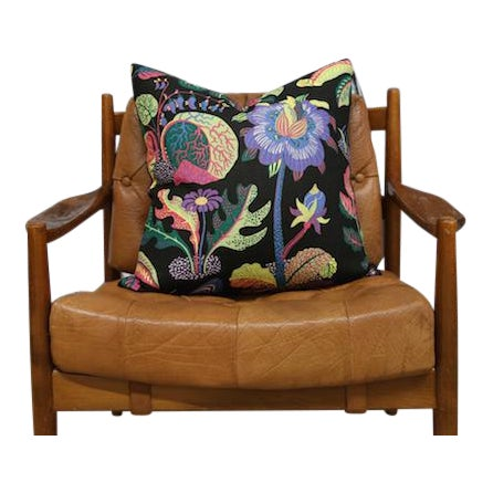 Image of Josef Frank Exotic Butterfly Pillow Cushion, Floral