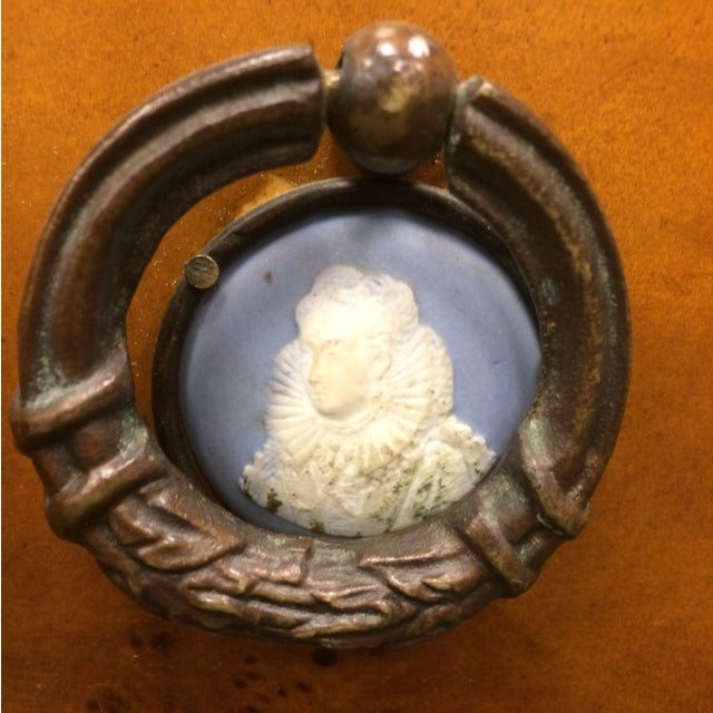 1850's Entry Table with Jasper Faced Pull Handle - Image 5 of 8