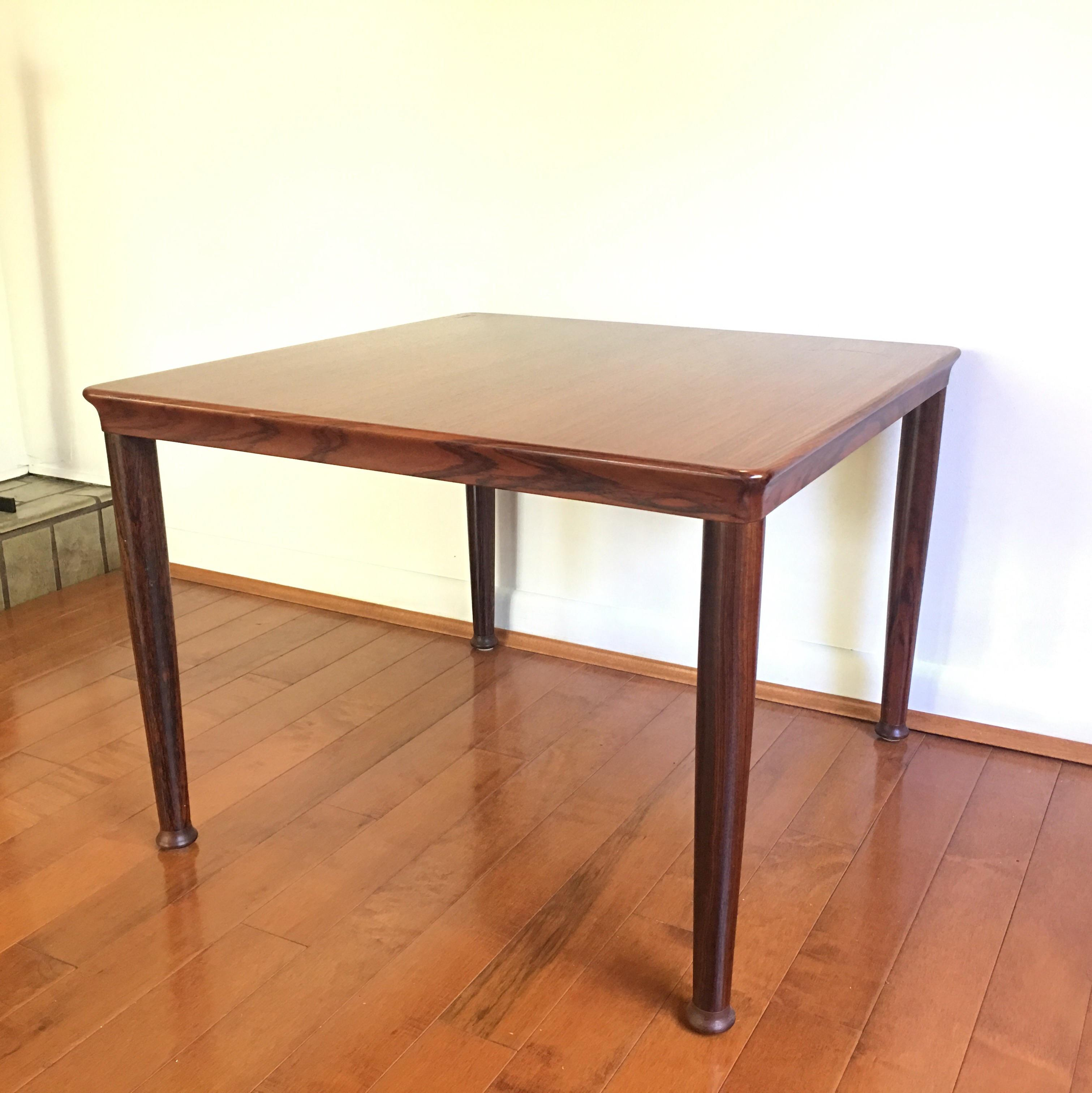Vejle Stole Møbelfabrik Danish Rosewood End Table   Image 2 Of 8