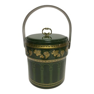 Cera Green & Gold Ice Bucket