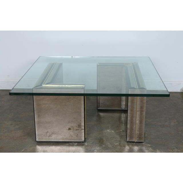 Modern Mirror Glass Coffee Table Chairish