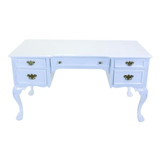 Link Taylor White Lacquered Desk