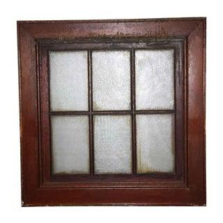 Cooper Union University Wooden Frame Window