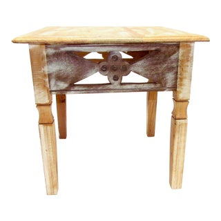 Antique Adorable Side Table - Eco-Friendly Reclaimed Solid Wood