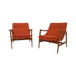 Mid Century Modern Lounge Chairs - 2