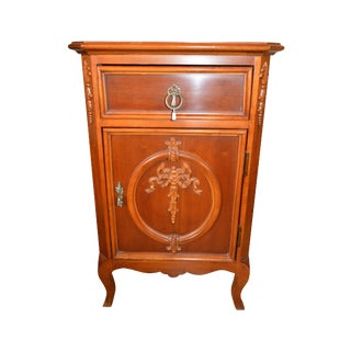 French Country Cherry Commode Nightstand
