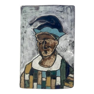 1950s Harris Strong Jester Slab Tile