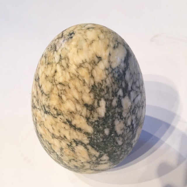 Signed/Numbered Decorative Vintage Marble Egg - Image 2 of 4