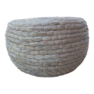 Natural Fiber Coffee Table