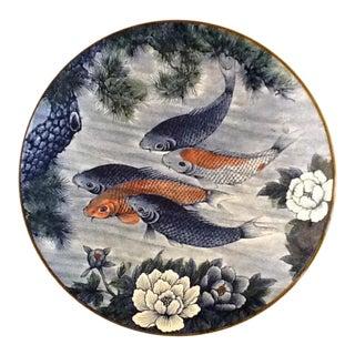 Asian Koi Fish Serving Platter