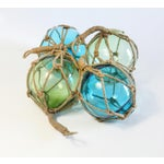 Image of Glass Fishing Floats - Set of 4