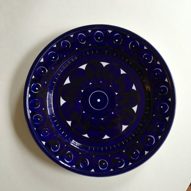 Image of Vintage Arabia of Finland Valencia Plate