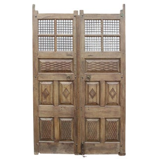 Spanish Colonial Entrance Doors - A Pair