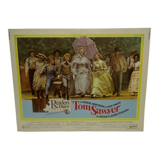 """Vintage Movie Poster A Musical Adaptation of Mark Twains """"Tom Sawyer"""" 1973"""