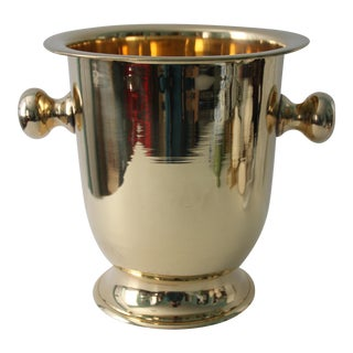 Solid Brass Champagne Bucket