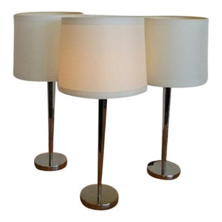 Barbara Barry Pacific Heights Candlestick Lamps - S/3