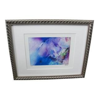 """Al Foxx Impressionist Limited Edition """"Woman"""" Print"""