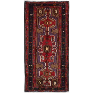 "2'7"" x 5'4"" Koliai Vintage Persian Rug"