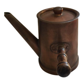 French Copper Pot