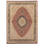 Image of Tabriz Collection Traditional Rug - 8'x10'