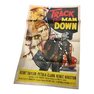 1955 Original Petula Clark Movie Poster