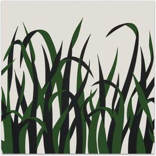 Mid-Century Style 1973 Supergraphic Grasses Print