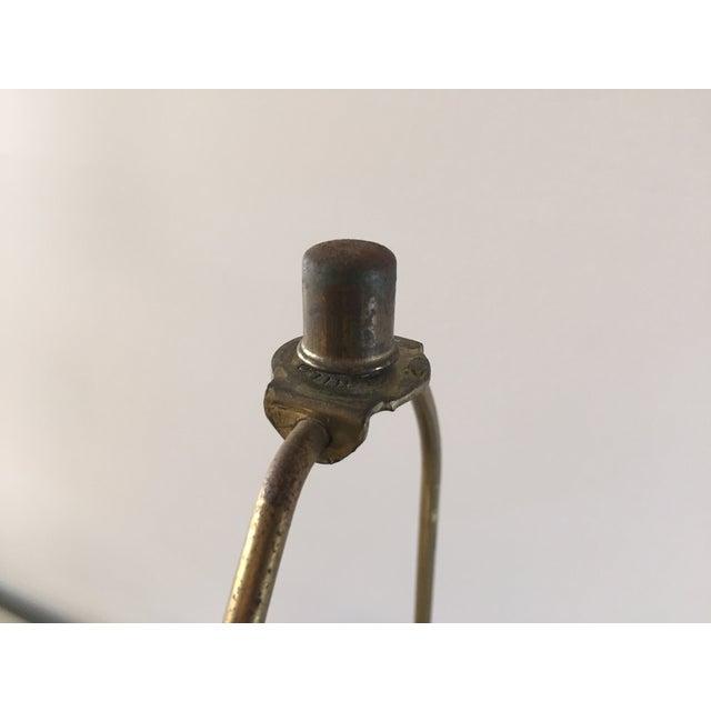 Vintage Laurel Walnut Teardrop Table Lamp - Image 6 of 7