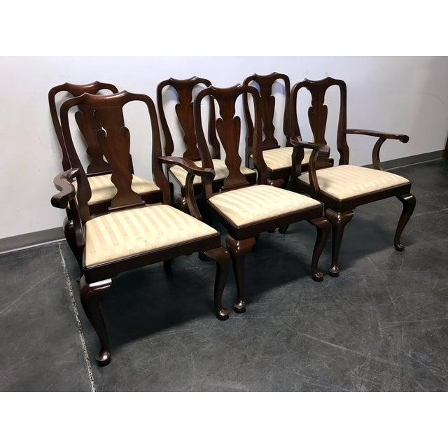 Henkel Harris Dining Room Furniture: Henkel Harris Mahogany Queen Anne Dining Chairs