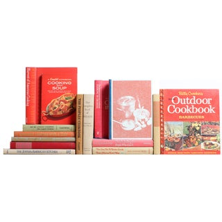 Red & Tan Cookbooks - S/15