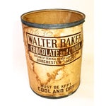 "Image of ""Walter Baker"" American General Store Cocoa Barrel"