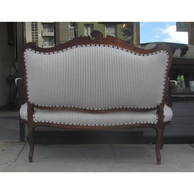 French Victorian Vintage Sette - Image 3 of 3