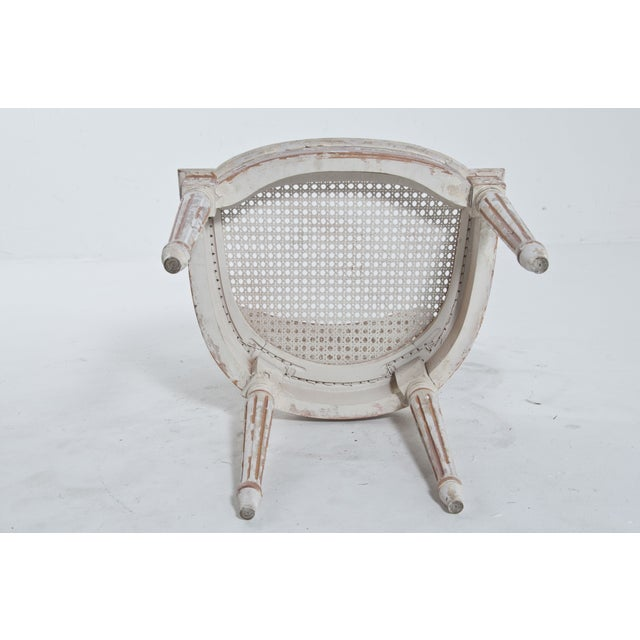 French Caned Chair - Image 8 of 8