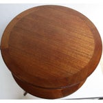 Image of Edward Wormley for Dunbar, Two-Tier Mahogany Occasional Table